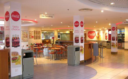 Airport Food Hall
