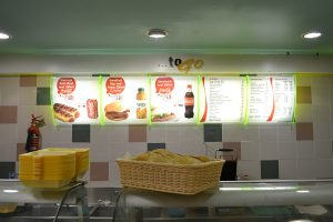 Spar food menu