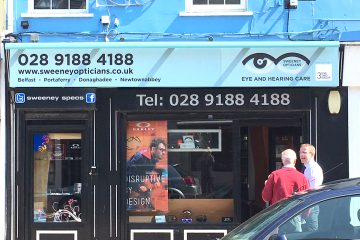 AFTER: Sweeney Opticians, Donaghadee
