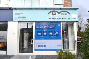 AFTER: Sweeney Opticians, Lisburn Road