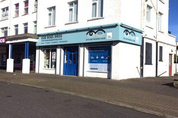 AFTER: Sweeney Opticians, Newtownards