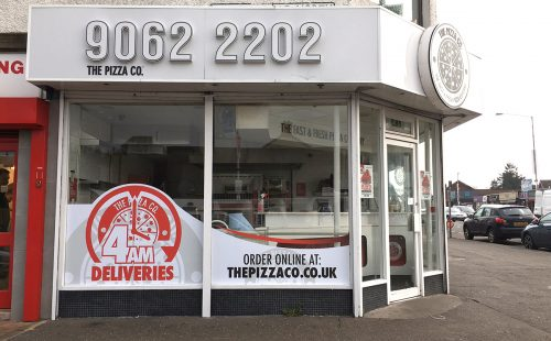 The Pizza Co, Finaghy
