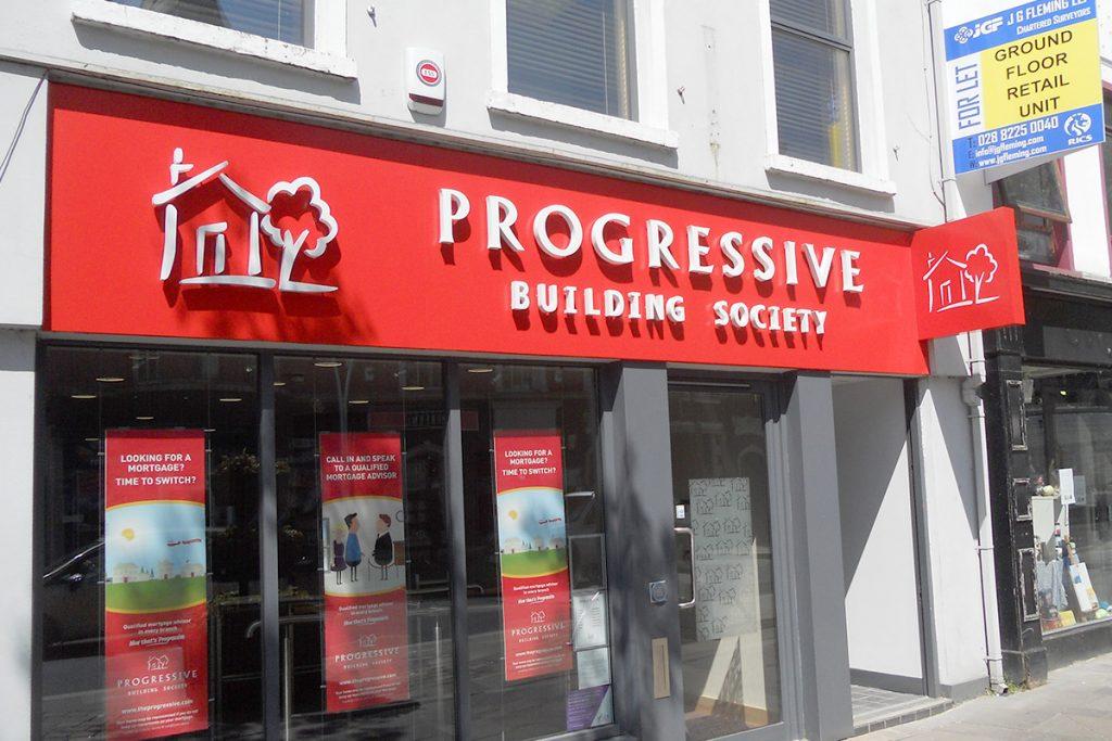 Progressive Building Society Newtownards