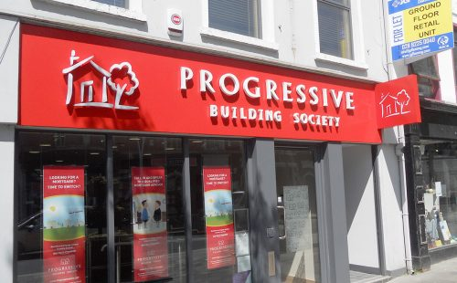 AFTER: Progressive Building Society, Omagh